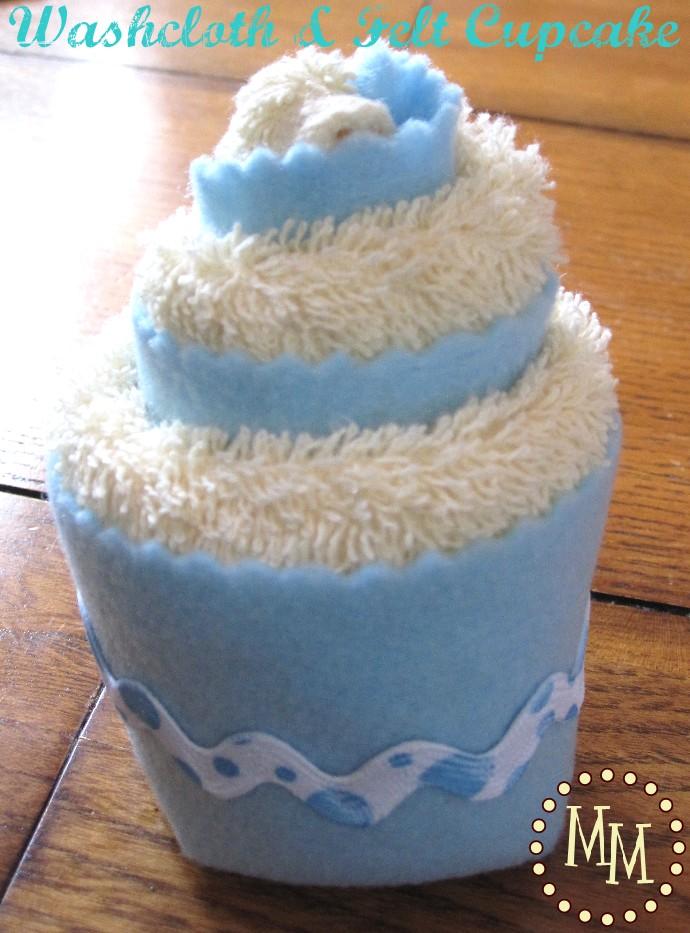 Cupcake Baby Washcloth Tutorials