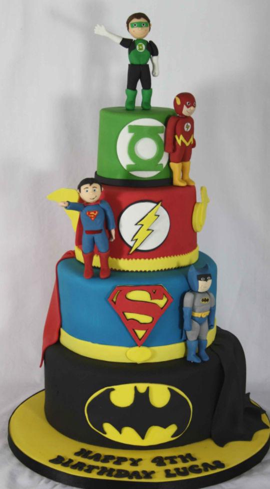 DC Superhero Birthday Cakes