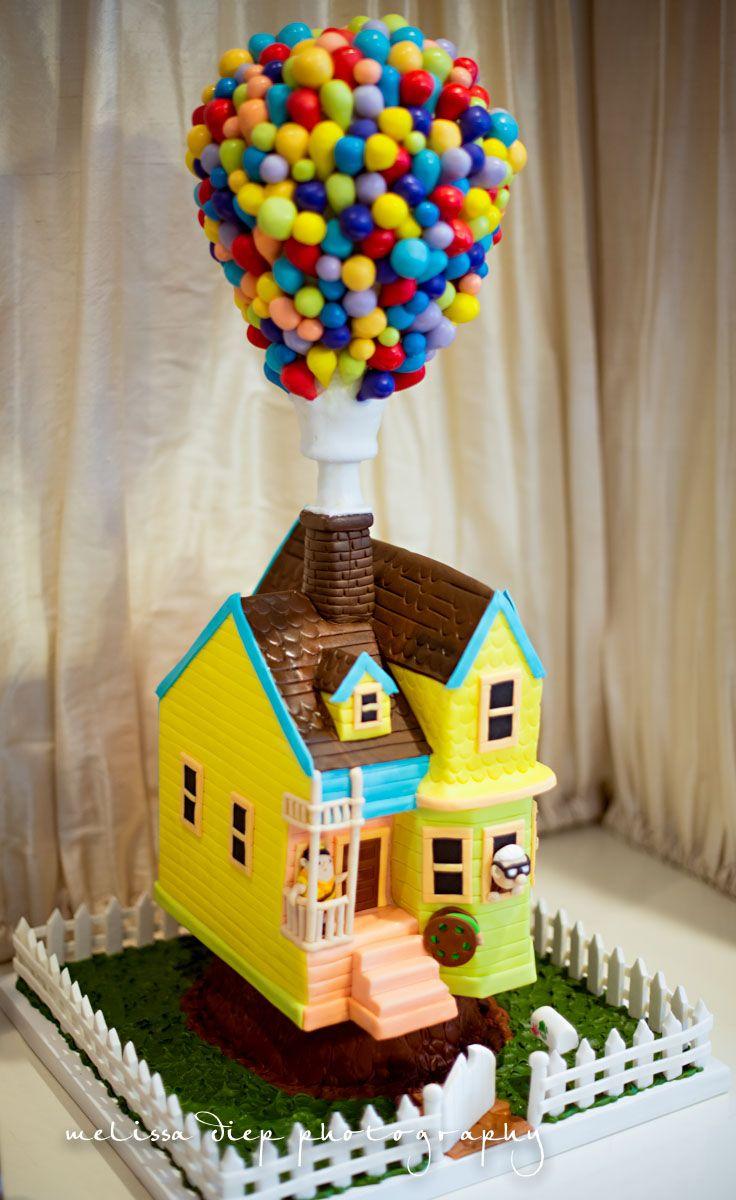 Disney Up Birthday Cake