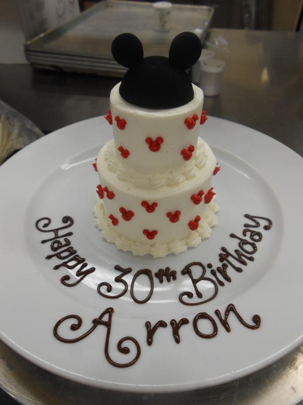 Disney World Mini Birthday Cakes