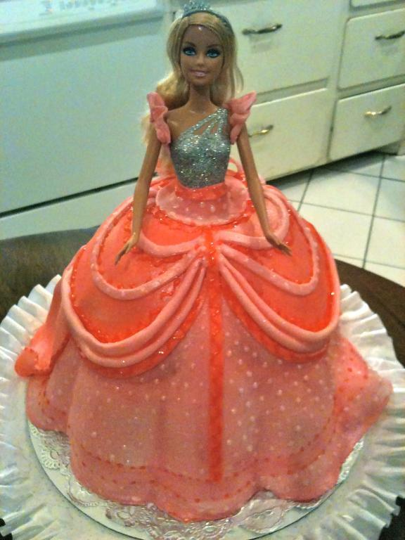 Doll Cake Decorating Ideas