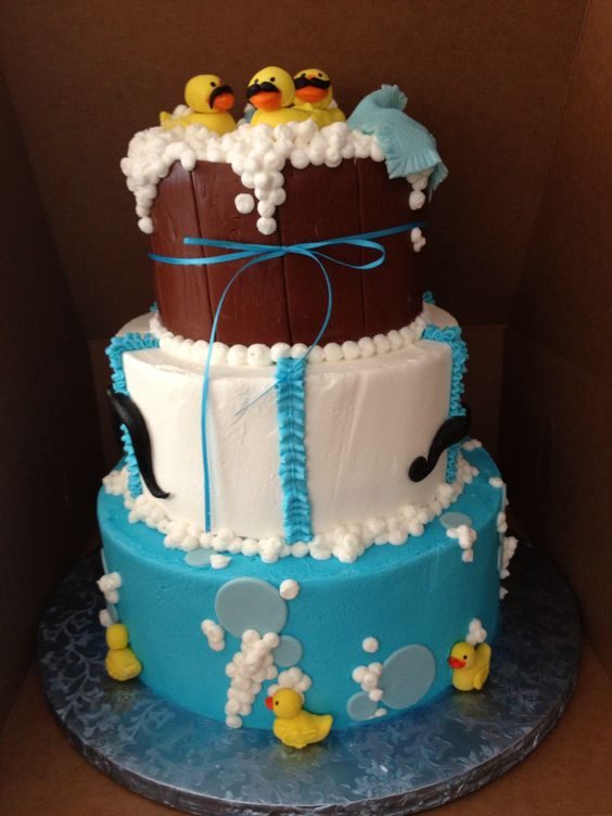 Duck Theme Baby Shower Cake