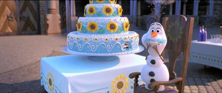 Fever Disney Frozen Birthday Cake