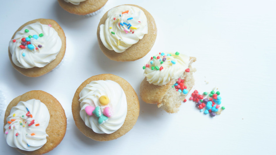 Filled Cupcake Recipe with Candy