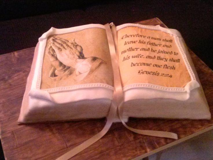 Groom Bible Wedding Cakes