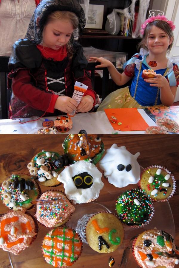 Halloween Cupcakes for Kids Parties