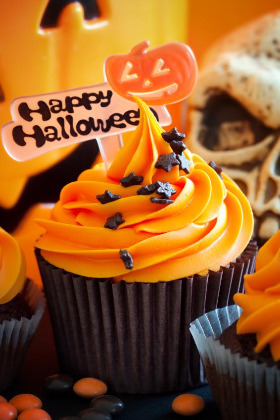 5 Photos of Happy Halloween Cupcakes