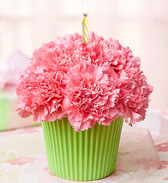 12 Photos of Fresh Flower Arrangements Cupcakes