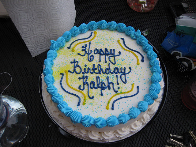 Happy Birthday Ralph Cake