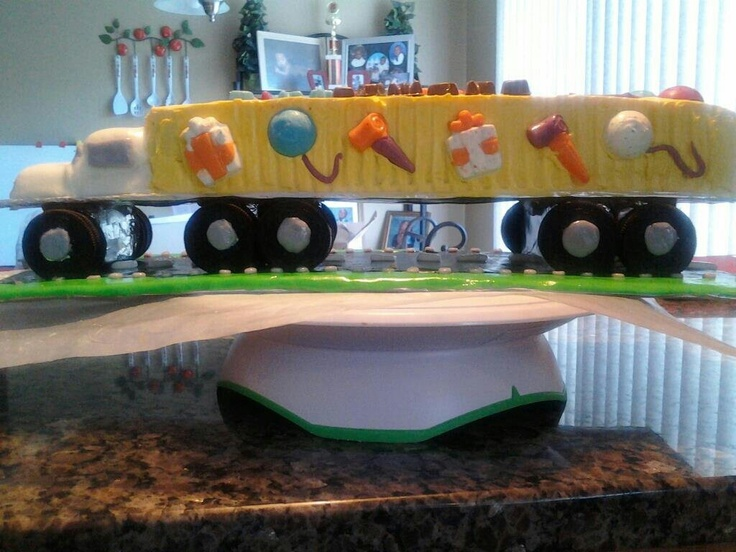 Happy Birthday Truck Driver Cakes
