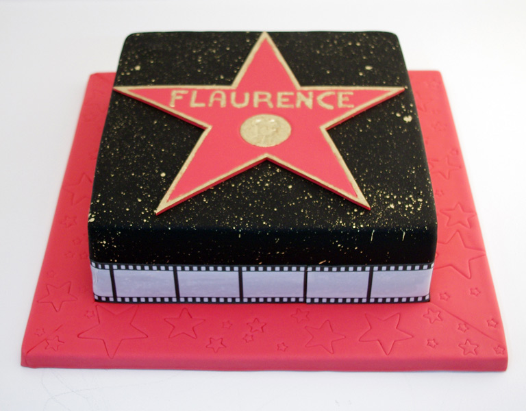Hollywood Star Cake