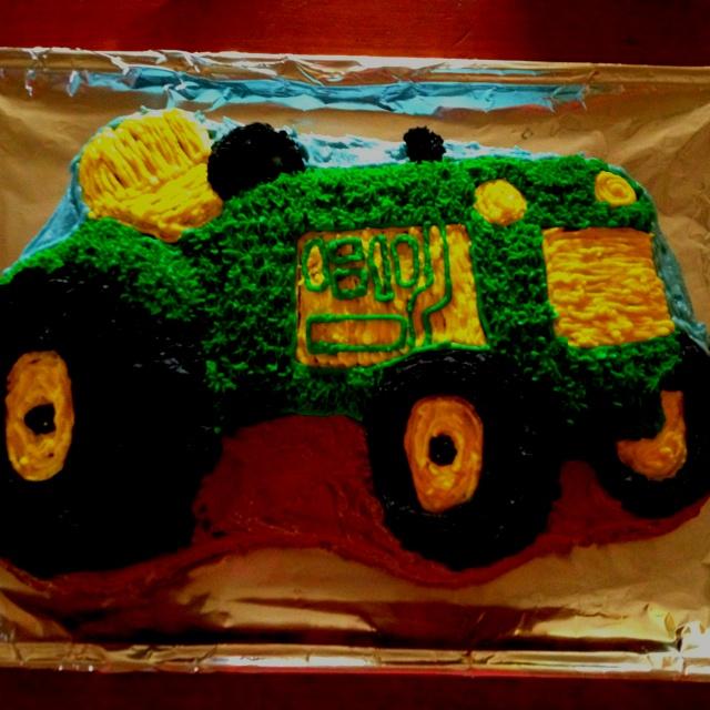 John Deere Birthday Cake for 2 Year Old