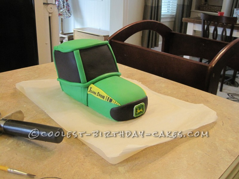 John Deere Cakes for a 2 Year Old