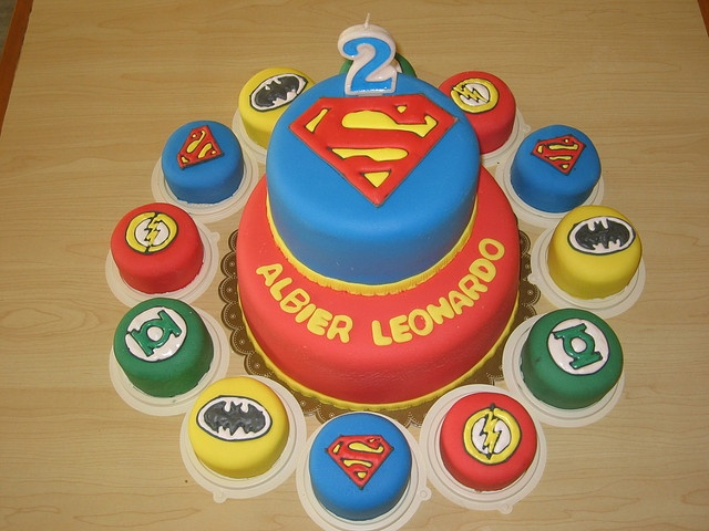 Justice League Birthday Cake Ideas