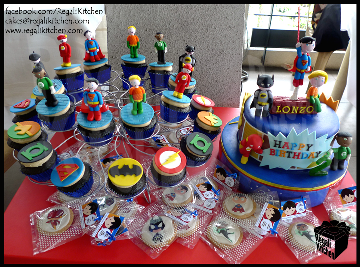 Justice League Birthday Cakes Boys