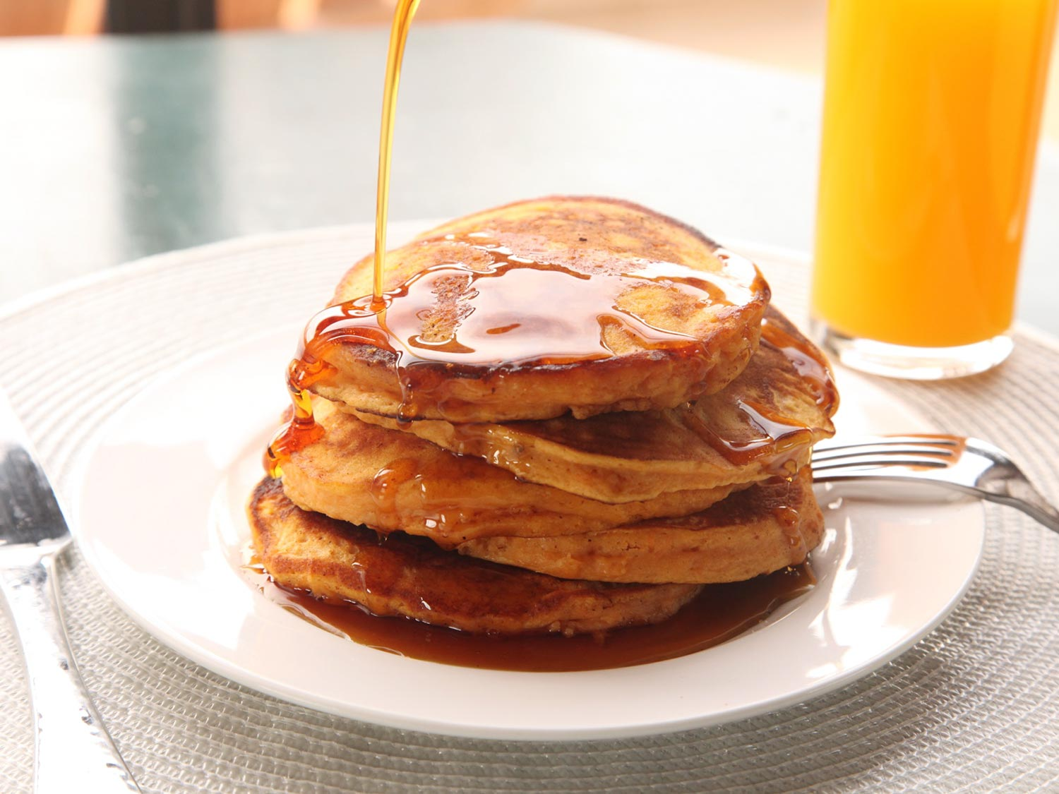 Mashed Sweet Potato Pancakes Recipe
