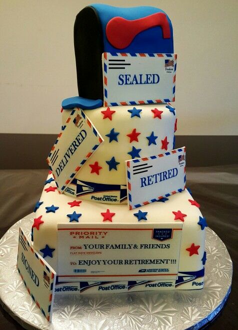Office Retirement Cake Ideas