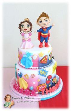 Princess Cake for Twins