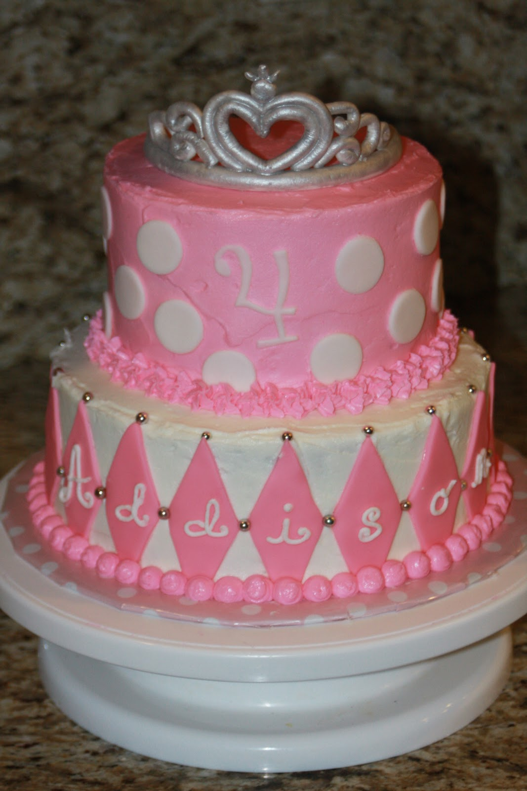 Princess Cakes for Little Girls