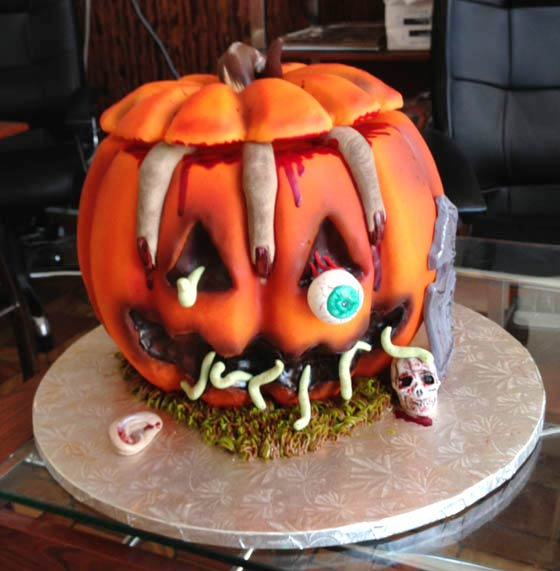 Scary Halloween Cake Ideas