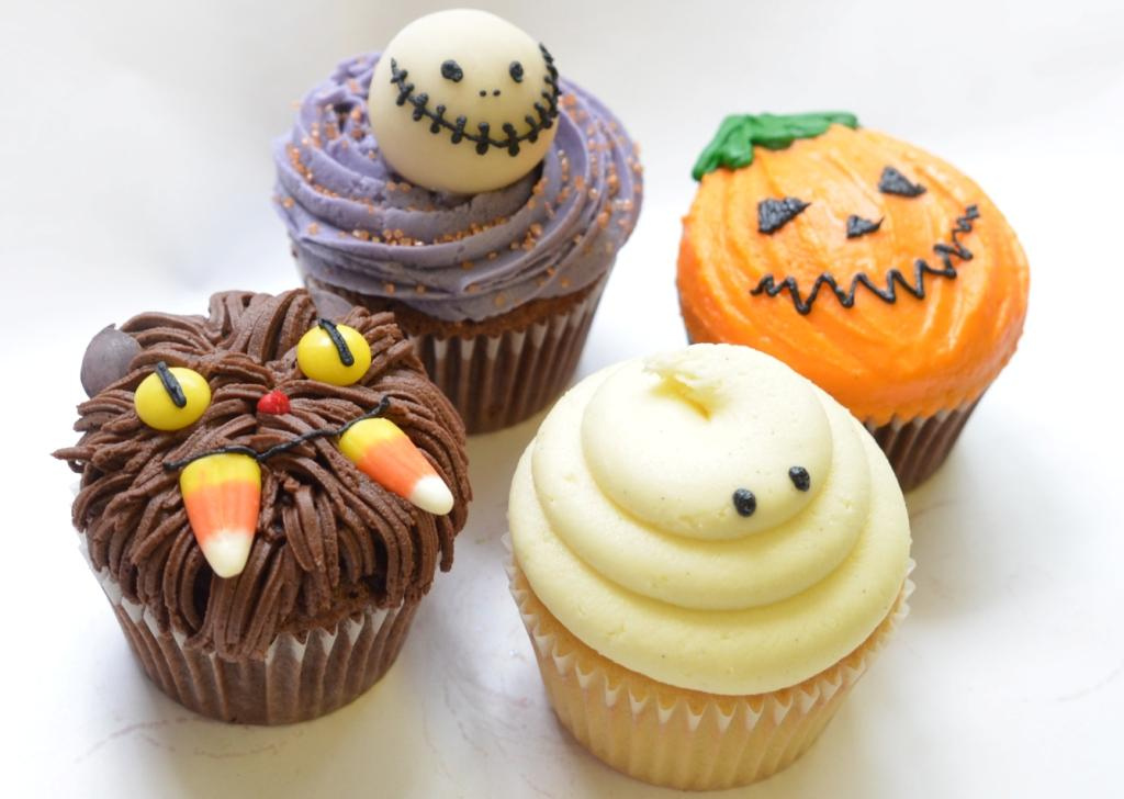 Scary Halloween Cupcakes Monsters