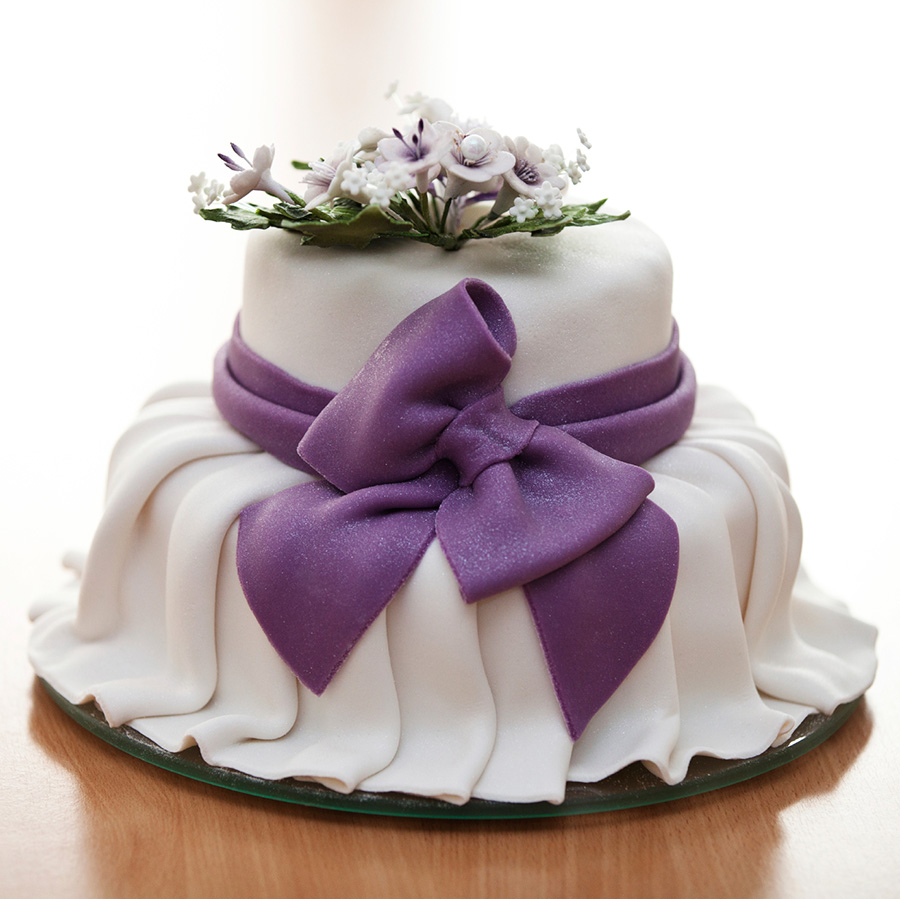Shaped Wedding Cake