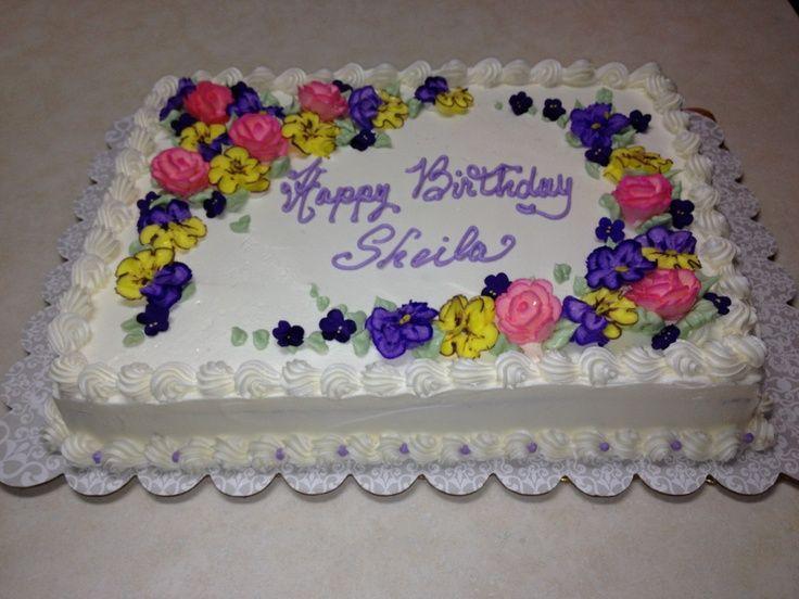 Sheet Cake Designs