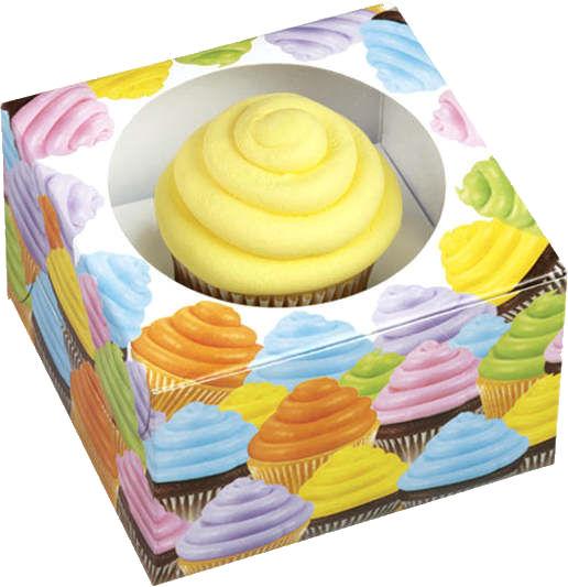 Single Cupcake Boxes