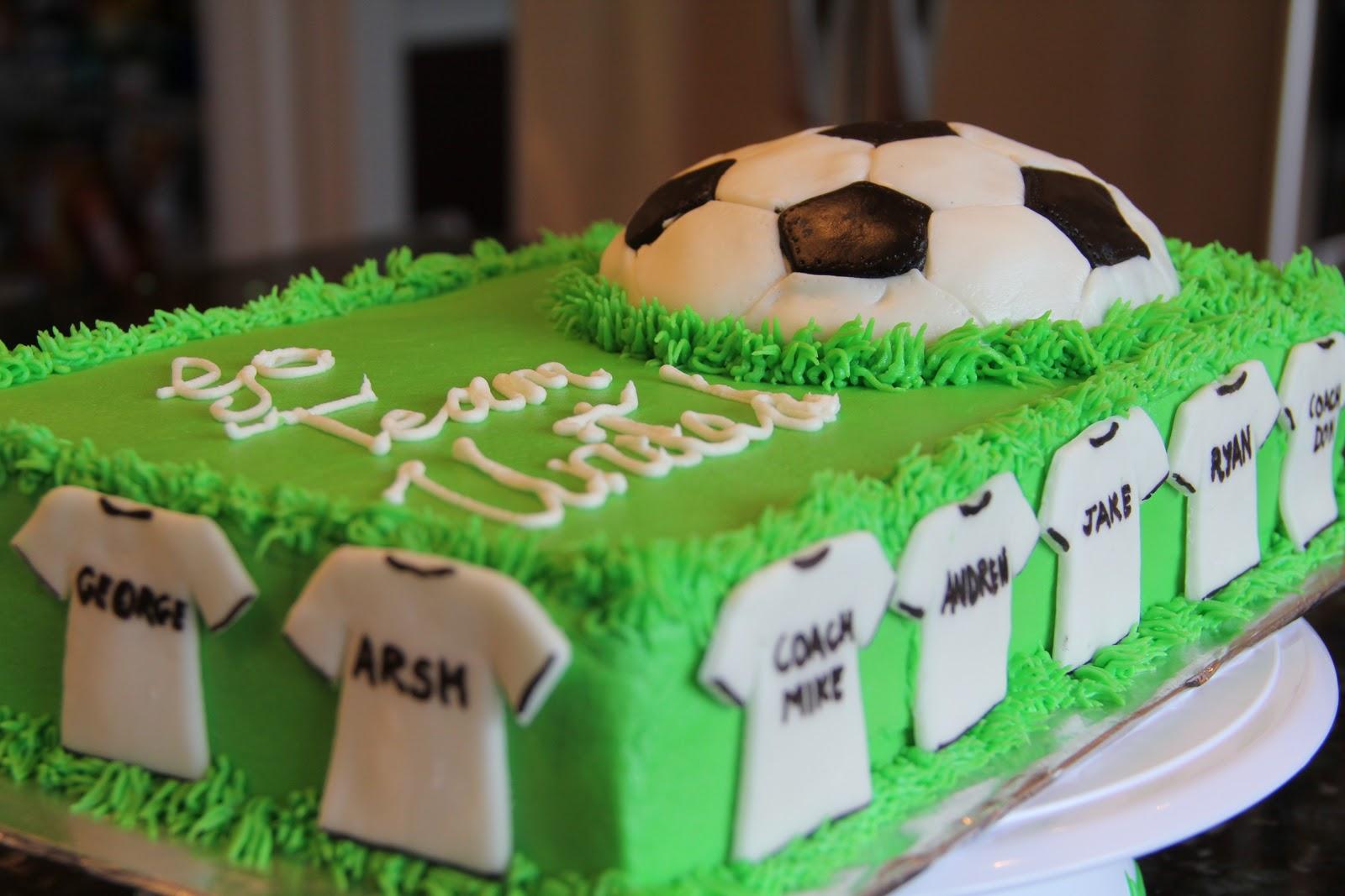 11 Photos of Soccer Team Cakes