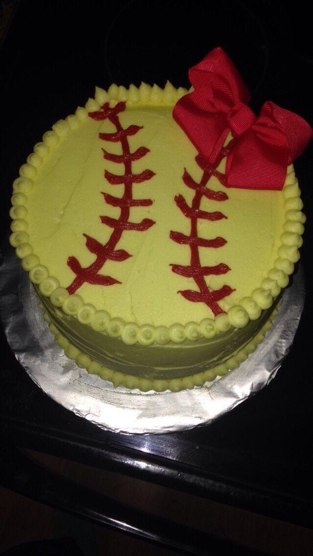Softball Cake Ideas