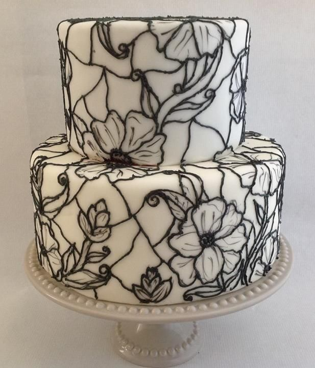 Stained Glass Cake Tutorial