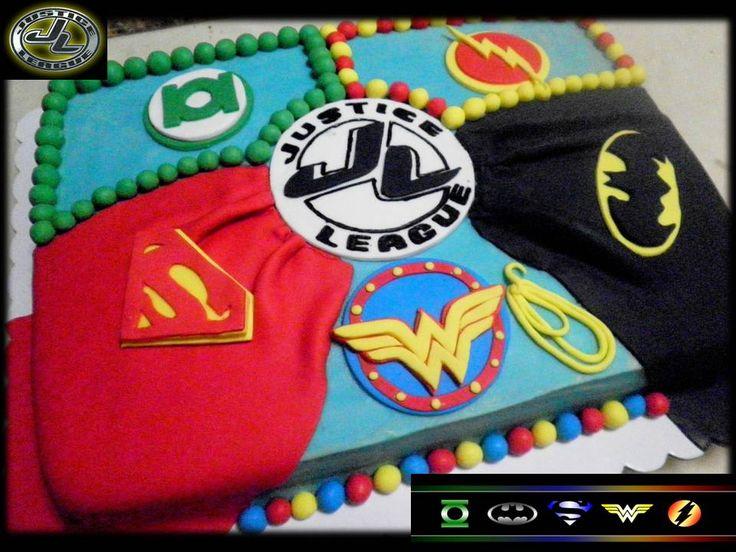 Superhero Justice League Birthday Party Ideas