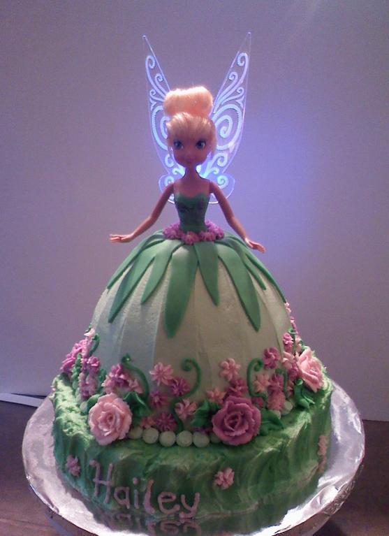 Tinkerbell Cake Decorating Ideas