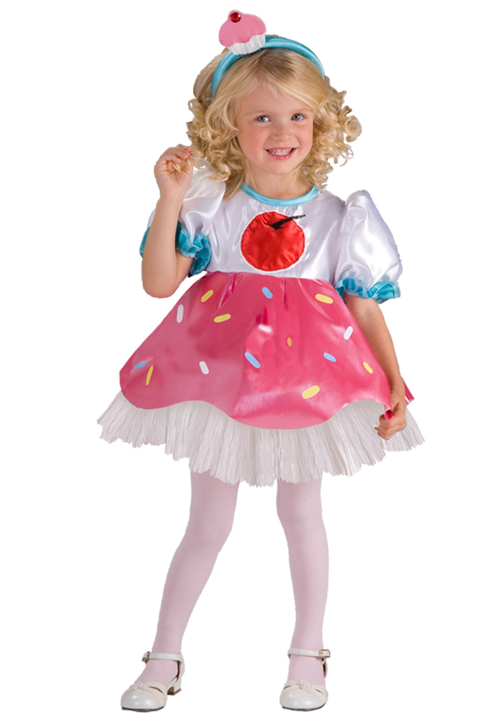 Toddler Girl Cupcake Costume