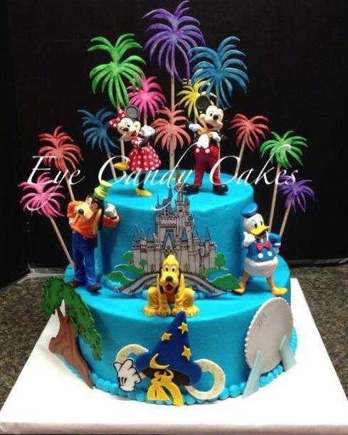 Walt Disney World Birthday Cake