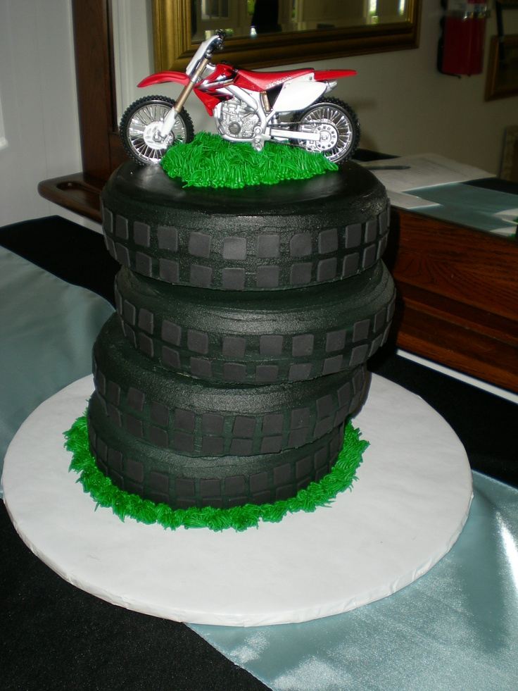 Wedding Cakes with Motorcycle