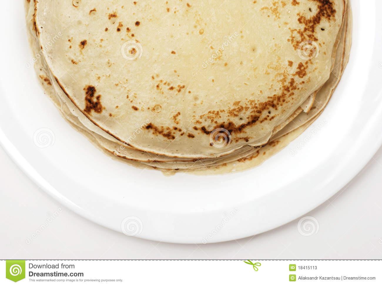 White Plate Pancakes